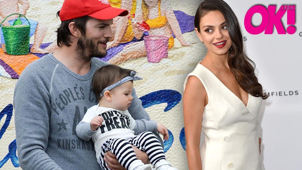 Mila kunis ashton kutcher expection baby number 2