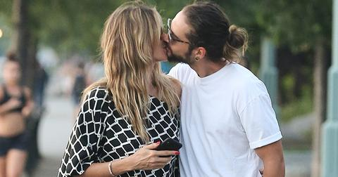 Heidi klum boyfriend tom kaulitz kissing photos