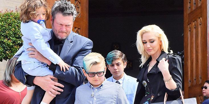 Gwen stefani ex gavin rossdale turning kids on blake shelton