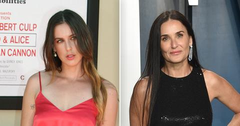 Scout Willis Is Identical To Mom Demi Moore In These Sexy Stripped Down Snaps, See Photos