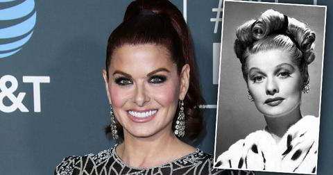 Debra Messing Lucille Ball
