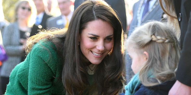Kate Middleton Duchess Cambridge EACH Children Long