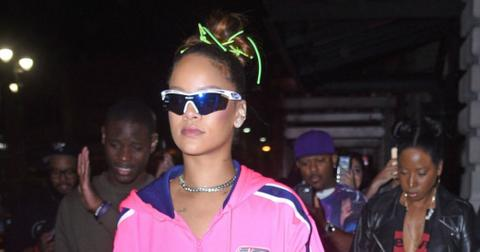 Rihanna Wears Pink Fenty Puma After Beauty Launch Photos hero2