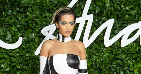 Rita Ora at the Fashion Awards 2019