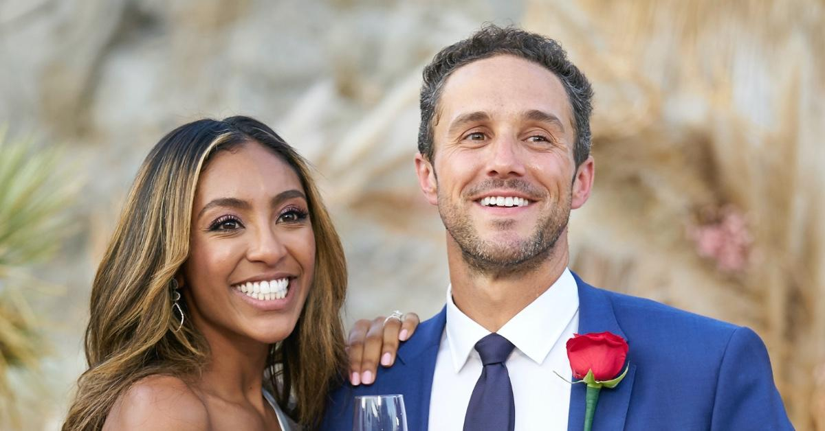 Could Tayshia Adams & Fiancé Zac Clark Tie The Knot As Early As 'Next Month'?
