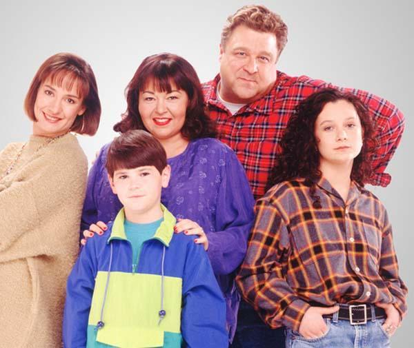 Roseanne cast pic