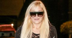 Amanda Bynes makes a rare appearance for the Obsev Studios holiday party