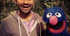 Aziz ansari sesame street