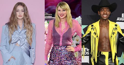 Gigi Hadid Taylor Swift Lil Nas X VMA's Seating Chart