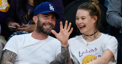 Behati post baby body daughter adam levine h