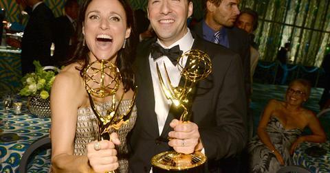 Julia Louis Dreyfus Tony Hale HBO Emmys Party