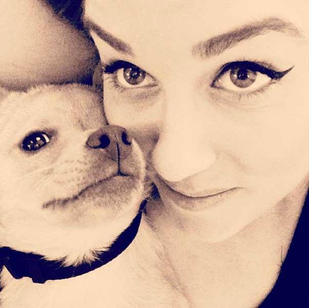 Lauren conrad celebrity pets chloe