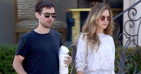 Tobey maguire coffee post pic