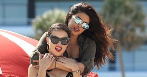 Adriana Lima and Priyanka Chopra sizzle on the beach