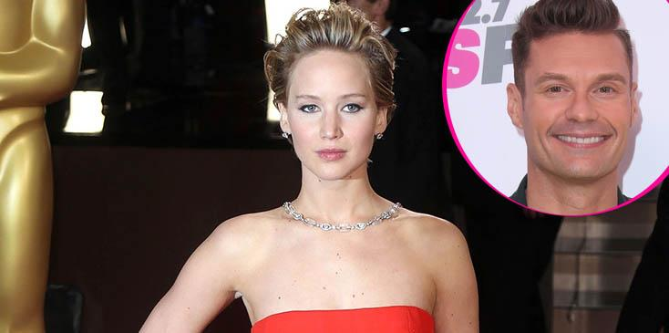 Jennifer lawrence might avoid ryan seacrest oscars