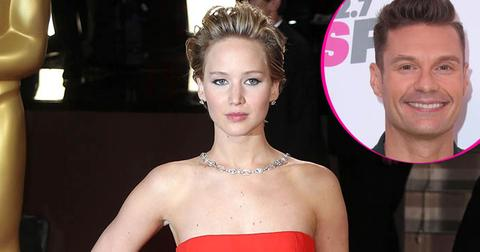 Jennifer lawrence might avoid ryan seacrest oscars