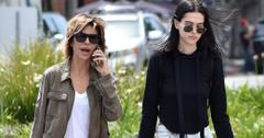 *EXCLUSIVE* Lisa Rinna goes shopping at Marc Jacobs with daughter Amelia