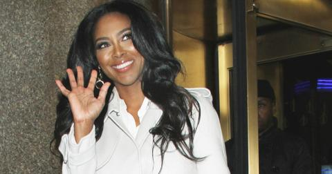 Kenya Moore stops by 'Access Hollywood' after getting axed on 'Celebrity Apprentice'