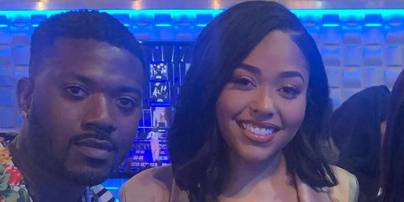 Jordyn Woods Poses With Ray J