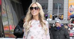 """Christina El Moussa shows off her legs arriving for """"Good Morning America"""""""