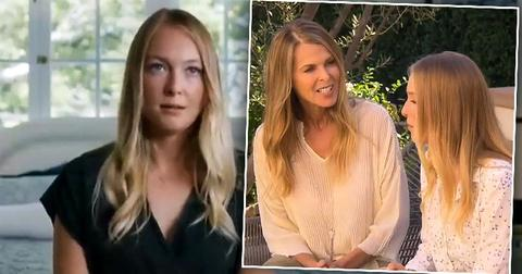 "India Oxenberg from STARZ's ""Seduced: Inside the NXIVM Cult."" and Inset of Catherine With Daughter India"