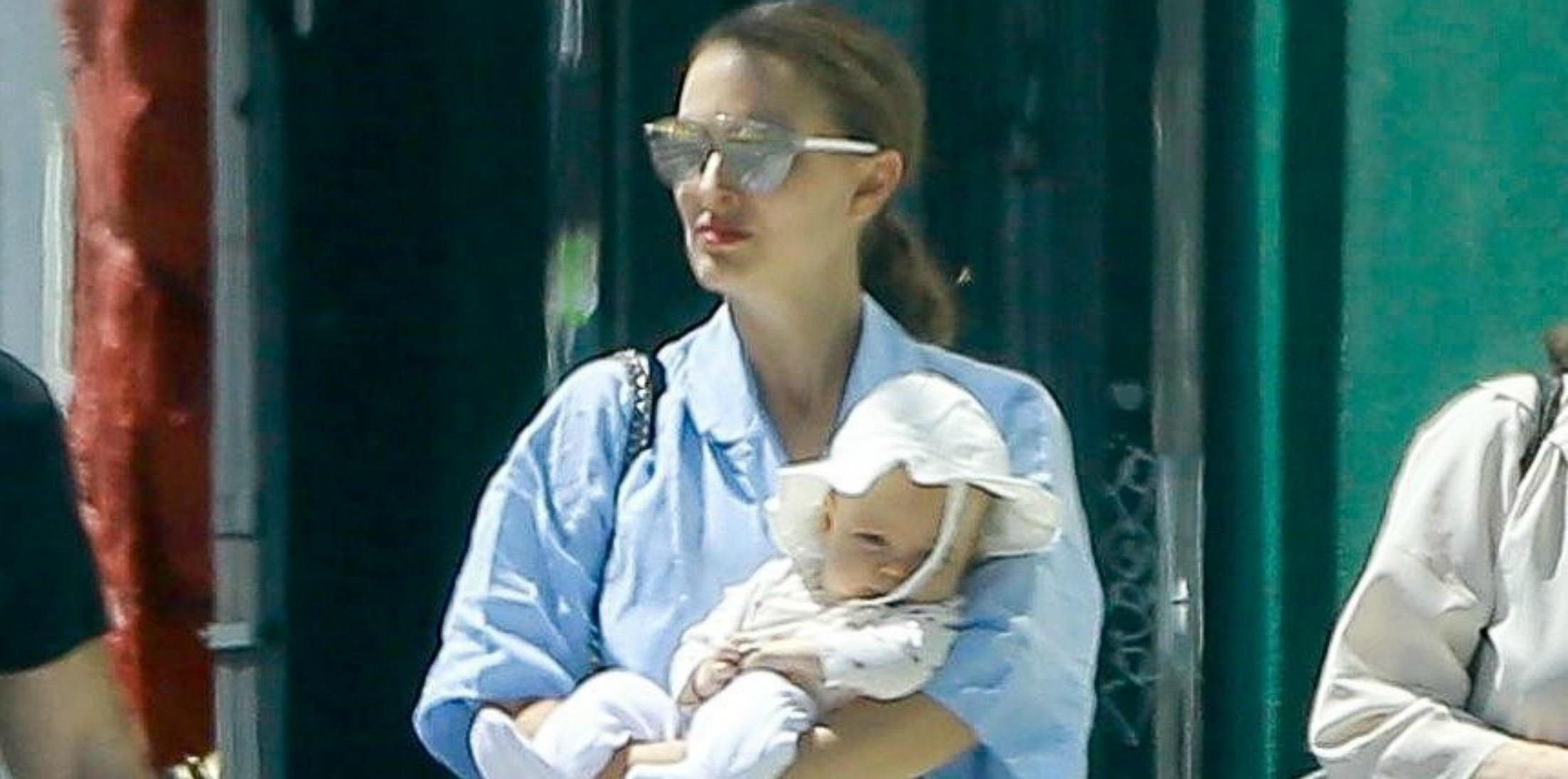 Natalie Portman newborn daughter birthday h