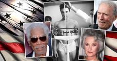 Celebrities Who Were Veterans Or Served In The Military morgan Freeman Elvis Presley Bea Arthur Clint Eastwood