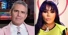 //Lil Kim Andy Cohen Messy PP