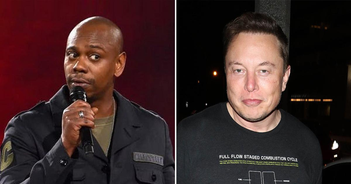 Dave Chappelle Got COVID After Partying With Elon Musk: Photo