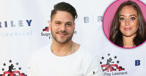 jersey shore revival ronnie magro reacts sammi giancola absence pp