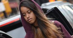 Malia Obama Arrives For Work At The Weinstein Company