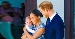 Meghan Markle Prince Harry Son Archie Takes First Steps