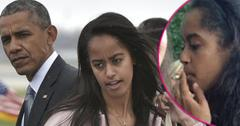 malia obama smoking pot