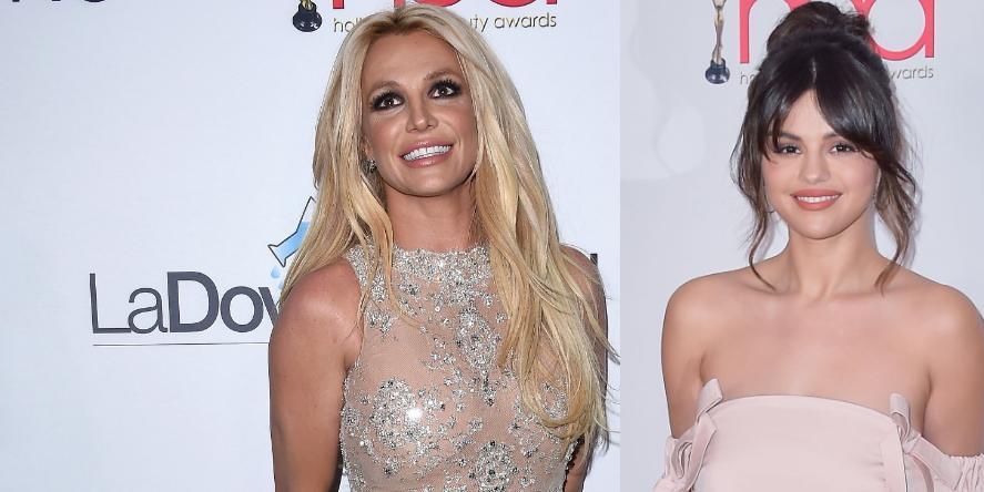 Britney Spears and Selena Gomez