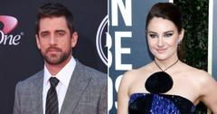 aaron rodgers engaged in nfl honors speech shailene woodley