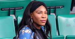 Pregnant Serena Williams arrives at the French Open