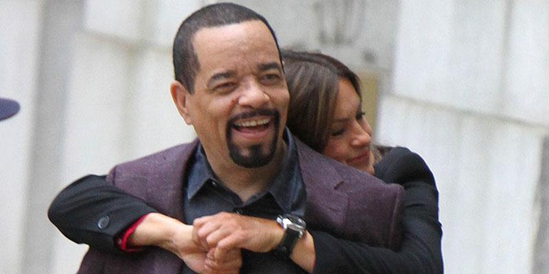 Mariska hargitay hugging ice t law and order svu–main
