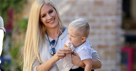 Heidi pratt son gunner ice cream pics