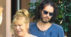 Russell brand mom serious road accident injuries main