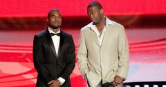 50 cent shades kanye west fleeing music video shooting main