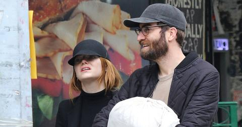 who is dave mccary emma stone pregnant baby daddy photos pf
