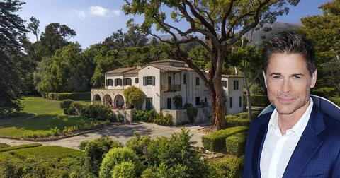 Rob Lowe Buys Another Home in Montecito