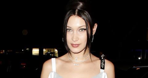 Bella Hadid Wears White In Paris