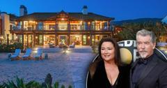 Inside Pierce Brosnan's Beachfront Mansion In Malibu