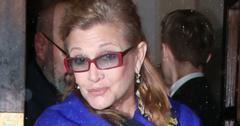 Carrie Fisher at the Attitude Magazine Awards