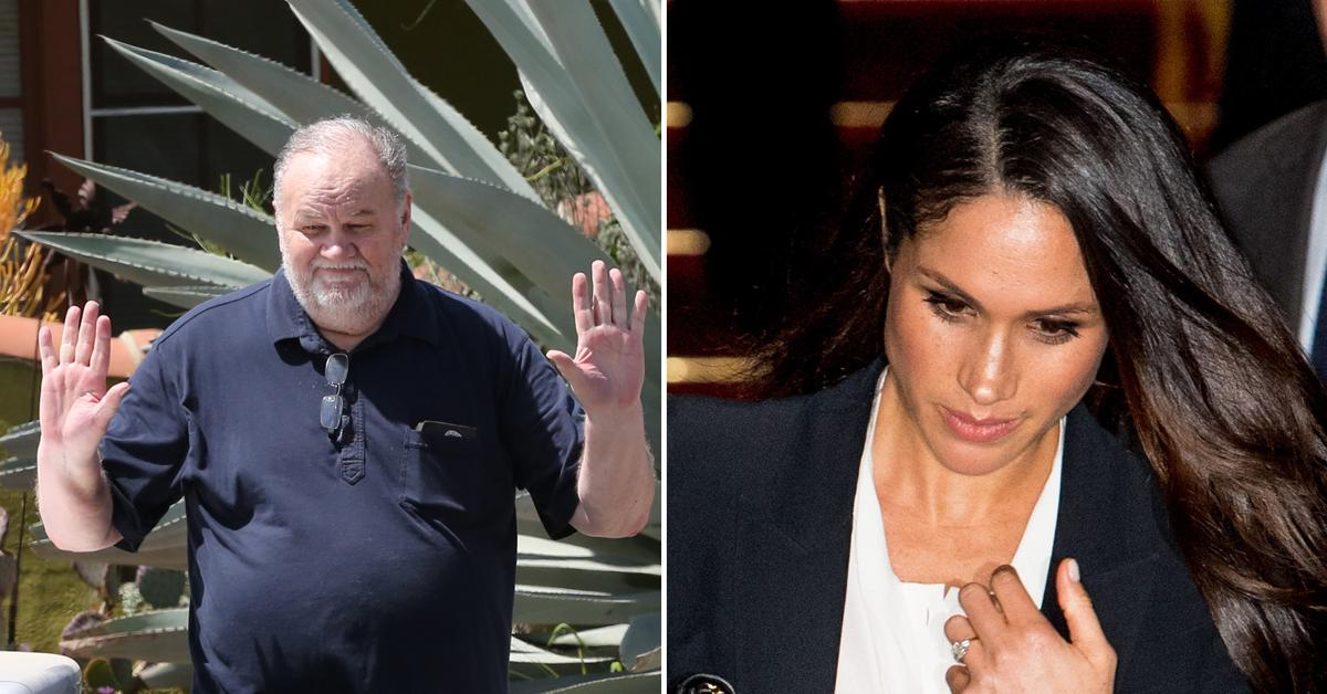 Meghan Markle's Estranged Father Thomas Published Her Letter To 'Defend' Himself Against Her 'Attack'