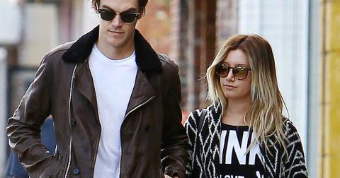 Ashley Tisdale Coordinates With Husband