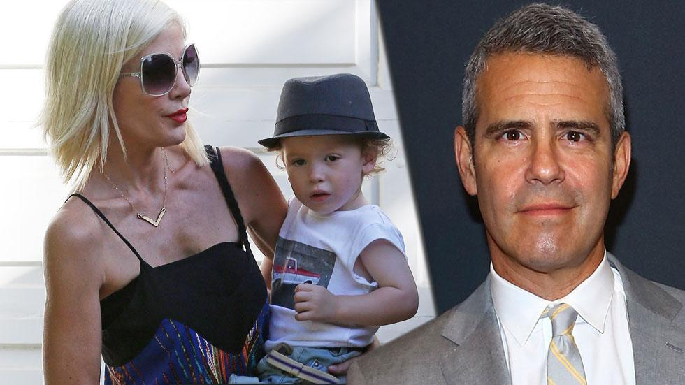 Andy cohen tori spelling feud  02 04