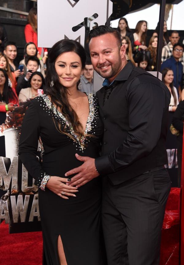 Jenni Jwoww Farley and fiance Roger Mathews
