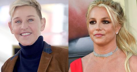 Ellen DeGeneres Britney Spears Female Celebs Shaved Heads